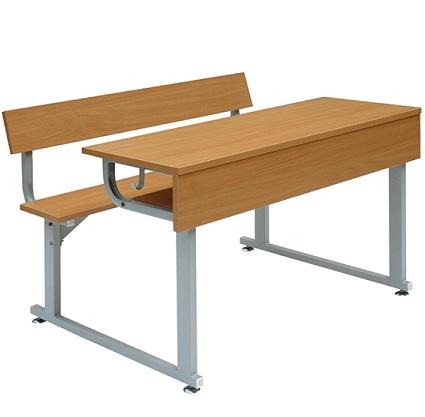 Bộ bàn liền ghế BHS104