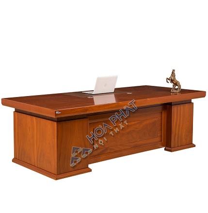 Bàn giám đốc gỗ Hòa Phát DT2010V17