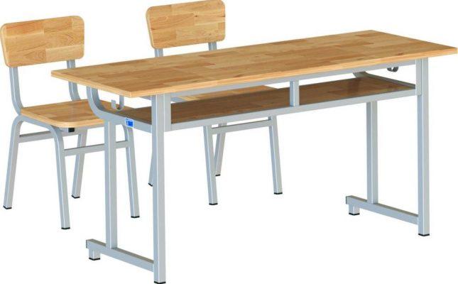 Bàn ghế học sinh BHS112-4G
